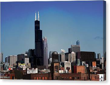 Chicago Canvas Print by David Blank
