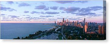 Chicago, Diversey Harbor Lincoln Park Canvas Print