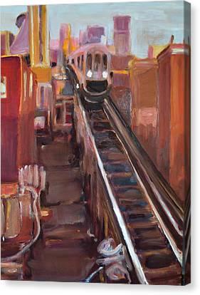 Chicago El Canvas Print