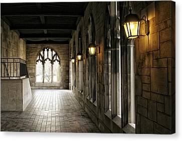 Chicago Halls  Canvas Print by Eugene Bergeron