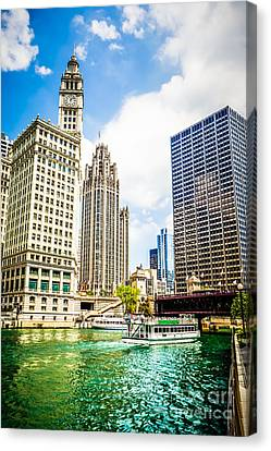 Chicago High Quality Picture Canvas Print by Paul Velgos