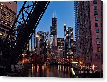 Chicago Loop Canvas Print by Jeff Lewis