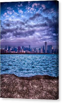 Chicago Lost In The Clouds Canvas Print