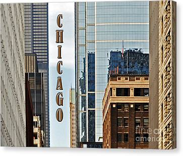 Chicago  Canvas Print by Lydia Holly