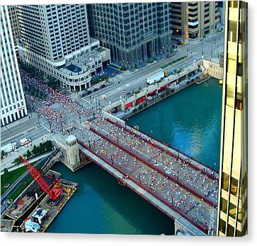 Chicago Marathon 2008 Canvas Print