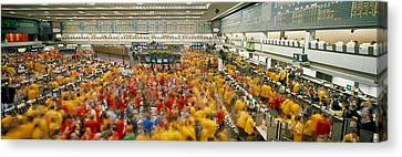 Chicago Mercantile Exchange Chicago Il Canvas Print by Panoramic Images