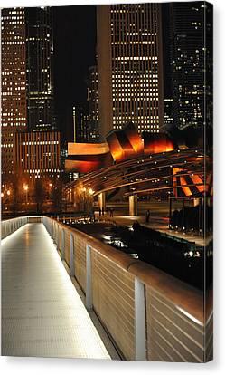 Chicago Millenium Park Canvas Print by Steve Archbold