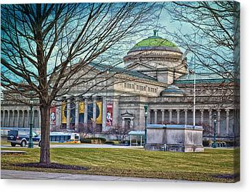 Chicago Msi Hdr Textured  Canvas Print