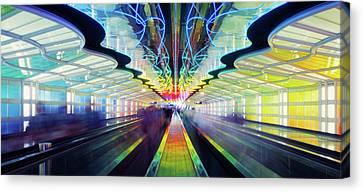 Chicago Ohare International Airport Canvas Print