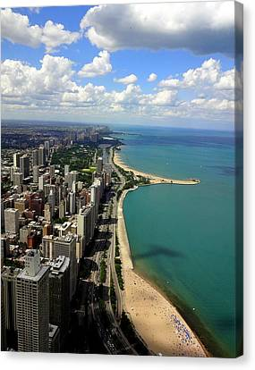 Chicago On The Lake Canvas Print