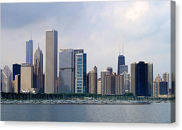Chicago Panorama Canvas Print by Milena Ilieva