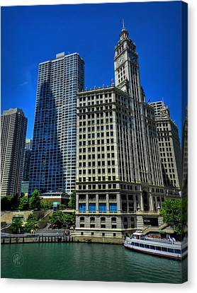 Chicago River 002 Canvas Print by Lance Vaughn