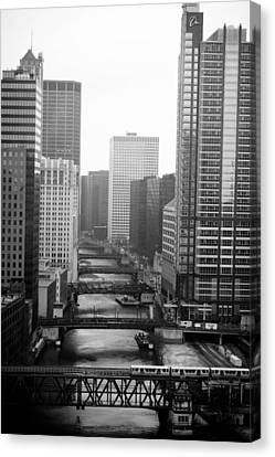 Canvas Print - Chicago River by Allan Millora