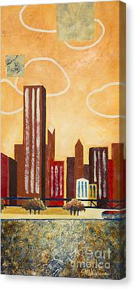Chicago River I Canvas Print