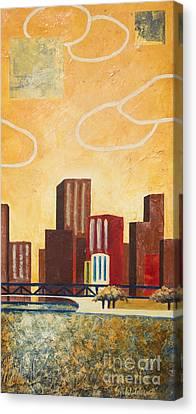 Chicago River II Canvas Print