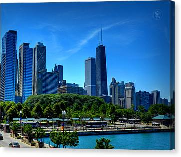 Chicago Skyline 002 Canvas Print by Lance Vaughn
