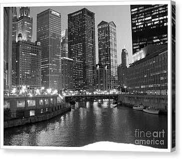 Chicago Sparkle Canvas Print by Jesse Forrister
