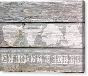 Chicago Bulls Canvas Print - Chicago Sports Teams by Celestial Images