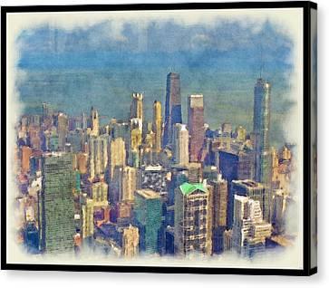 Chicago... Canvas Print