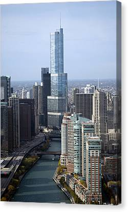 Chicago Trump Tower Canvas Print