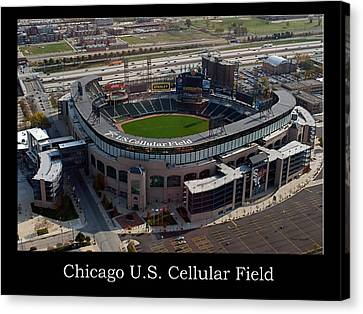 Chicago Us Cellular Field 01 Canvas Print
