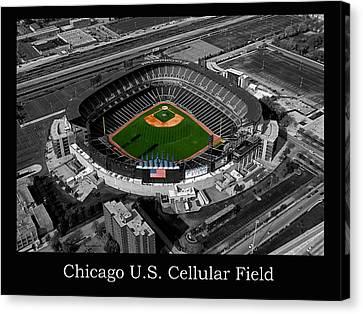 Chicago Us Cellular Field Sc Canvas Print