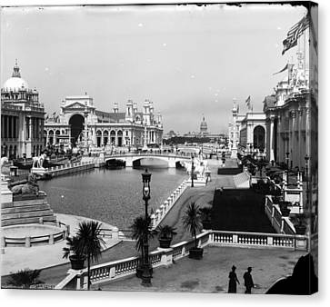 Chicago Worlds Columbian Exposition 1893 Canvas Print by Historic Photos