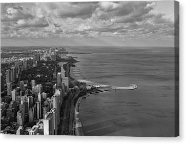 Chicago's Lake Front Canvas Print by Jerome Lynch