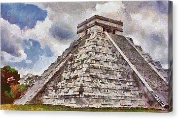 Chichen Itza Canvas Print