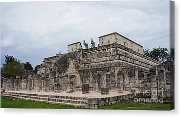 Chichen Itza Ruins 17 Canvas Print