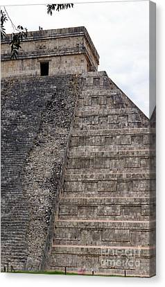 Chichen Itza Ruins 22 Canvas Print