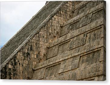 Canvas Print featuring the photograph Chichen Itza by Silvia Bruno