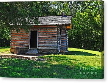 Chickamauga Cabin Canvas Print by Elvis Vaughn