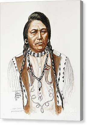 Chief Ouray Canvas Print