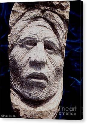 Chief-santana Canvas Print by Gordon Punt