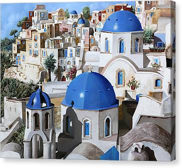 Chiese Ortodosse Canvas Print