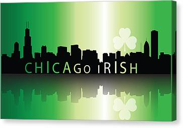 Chigago Irish Canvas Print