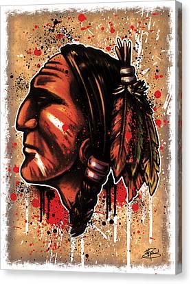 Chihawk Canvas Print by Michael Figueroa