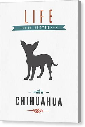 Chihuahua 01 Canvas Print by Aged Pixel