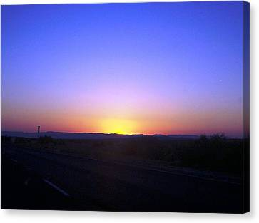 Chihuahua Desert Sunset Canvas Print by The GYPSY And DEBBIE