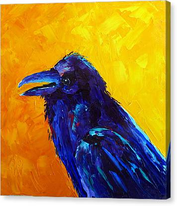 Chihuahuan Raven Canvas Print
