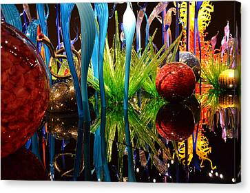 Chihuly-11 Canvas Print by Dean Ferreira