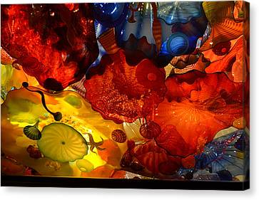 Chihuly-6 Canvas Print by Dean Ferreira