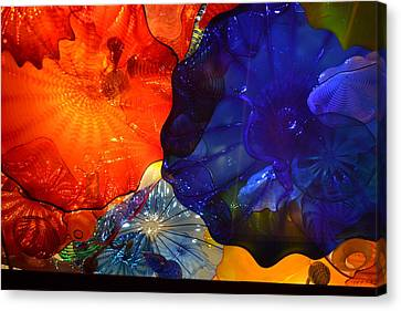 Chihuly-7 Canvas Print by Dean Ferreira