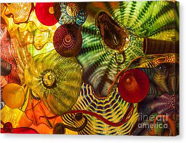 Chihuly Glass 3 Canvas Print