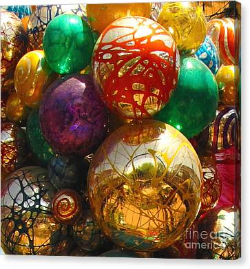 Chihuly In The Garden Canvas Print