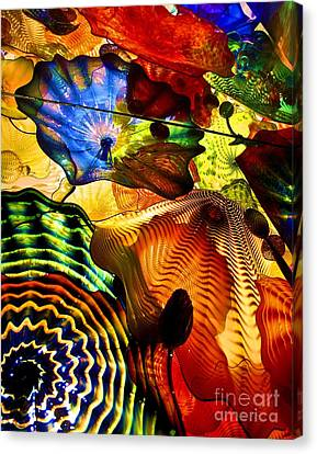 Chihuly Persian Ceiling Canvas Print by Pattie Calfy