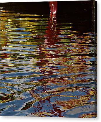 Canvas Print featuring the photograph Chihuly Reflections IIi by John Babis