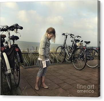 Child In Time Canvas Print by Michel Verhoef