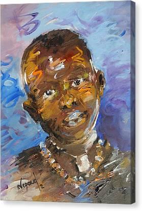 Child Canvas Print by Negoud Dahab
